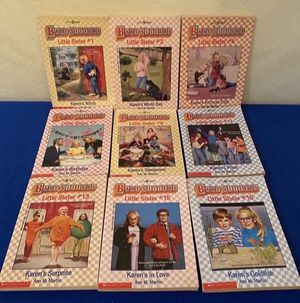 Vintage Babysitters Book Series (9 for $5) Little Sisters for Sale in San Antonio, TX