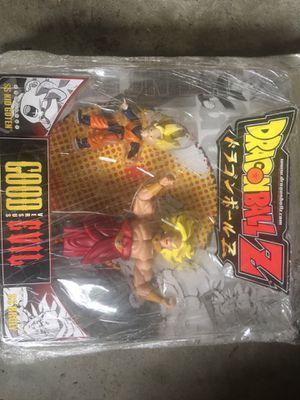Dragon Ball Z SS Kid Goten vs SS Brody jakks pacific rare mint for Sale in Santa Ana, CA