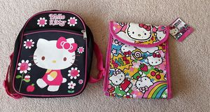 Hello Kitty lunch bag & small backpack $3 each for Sale in Kapolei, HI