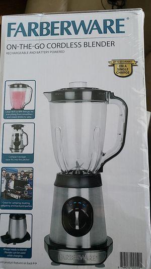 Farberware on the go cordless blender for Sale in Houston, TX