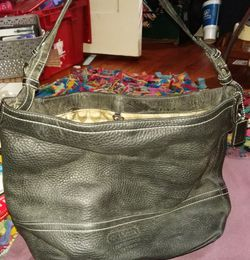 Coach Leather Hobo bag - Black for Sale in Baton Rouge,  LA