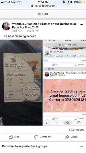 Cleaning services in all Massachussets for Sale in Maynard, MA