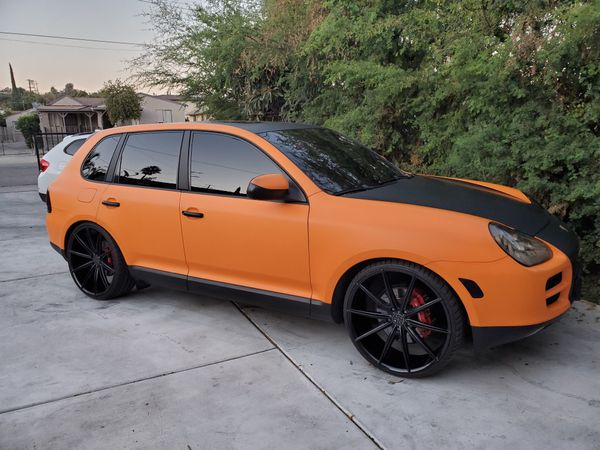 CUSTOM PORSCHE CAYENNE S V8 FOR SALE OR TRADE!!! BMW INFINITI MERCEDES CADILLAC AUDI LIFTED DIESEL BAGGED LOWERED PORSCHE SAND RAIL