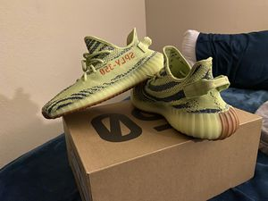"""Yeezy boost 350 v2 """"FrozenYellow"""" for Sale in Sherwood, OR"""