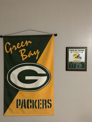 Green Bay Flag and Plaque for Sale in Mesa, AZ