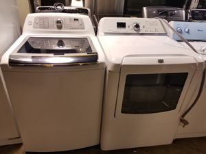 WASHER AND ELECTRIC DRYER for Sale in Houston, TX