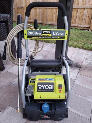 2000 psi Ryobi pressure washer for Sale in West Park, FL