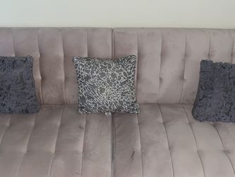 Pink Futon (pillow Included) for Sale in Silver Spring,  MD