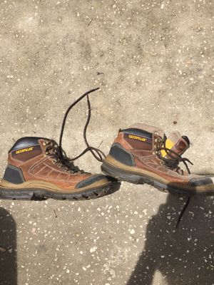 Caterpillar work boots size 11 for Sale in Spring Hill, FL