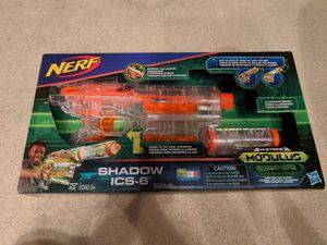 Nerf N-strike Modulus Ghost Ops. Shadow ICS-6 for Sale in Marietta, GA