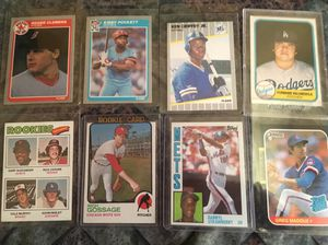 8 rookie baseball cards for Sale in Fullerton, CA
