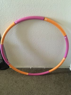 Weighted exercise hoola hoop for Sale in Modesto, CA