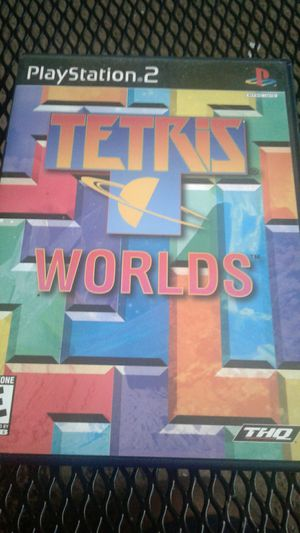 Tetris world ps2 for Sale in Spring Valley, CA