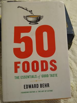 50 Foods, The Essentials of Good Taste for Sale in BROOKSIDE VL, TX