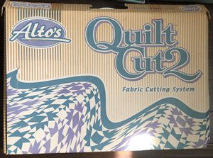 Alto's Quilt Cut 2 fabric cutting system New in Box for Sale in Mukilteo, WA