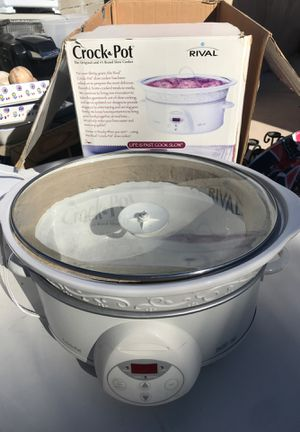 Rival crock pot smart pot crockpot for Sale in Las Vegas, NV