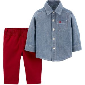 NWT Boys Button Shirt and Pants Outfit 2T for Sale in Germantown, MD