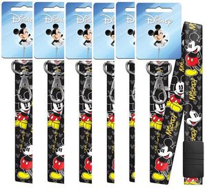 Authentic Disney Mickey Mouse Black Breakaway Lanyards 6 PC FAMILY PACK! for Sale in Cranston, RI