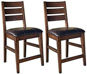 Ashley Furniture signature Design. Larchmont Barstool set for Sale in Waterbury, CT