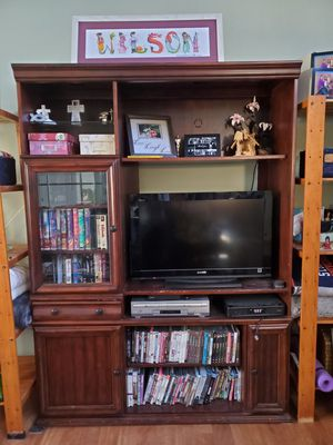 Lighted Entertainment Center for Sale in Bowie, MD