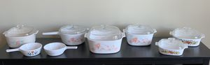 CorningWare with Pyrex Lids for Sale in Vienna, VA