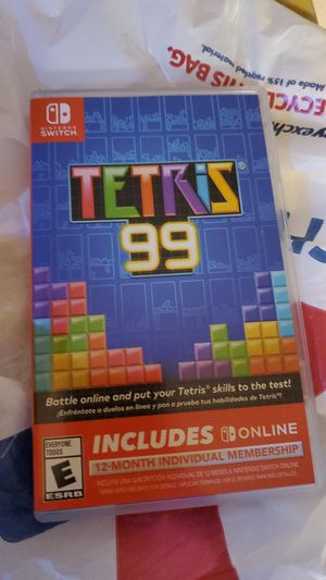 Switch Tetris 99 for Sale in Tacoma, WA