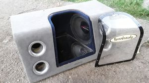 "12"" Audiobahn Speaker & Box for Sale in Fontana, CA"