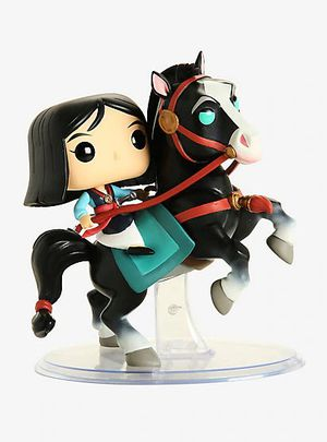 Disney mulan riding khan funko pop nib for Sale in Chino Hills, CA