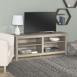 TV stand like new, media center 58inches for Sale in Glendale, CA