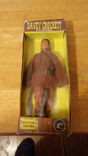Vintage collectible Davy Crockett action figure inbox make an offer for Sale in Pittsburgh, PA