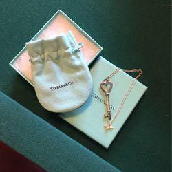 Tiffany Heart Key Necklace for Sale in Covington,  WA