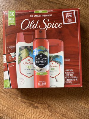 Old Spice Gift Set FIJI SCENT for Sale in Los Angeles, CA
