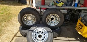 5 Wheels trailer 205 75 d14 for Sale in Greenville, NC