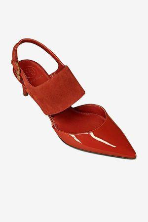 Tory Burch Women's Red Ashton Sandal Heels. Size 6.5 for Sale in Hillsboro, OR
