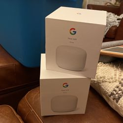 Google Nest Wifi - Home Wi-Fi System - Wi-Fi Extender - Mesh Router for Wireless Internet - 2 Pack for Sale in Bonita,  CA