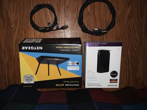 New netgear modem , wireless router, hdmi cables for Sale in Euharlee, GA