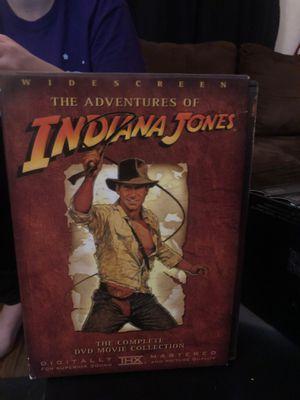 Indiana Jones dvd set for Sale in North Smithfield, RI