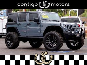 2015 Jeep Wrangler Unlimited for Sale in Vista, CA