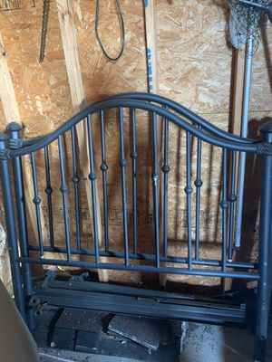 Bed frame and head board for Sale in Harlingen, TX