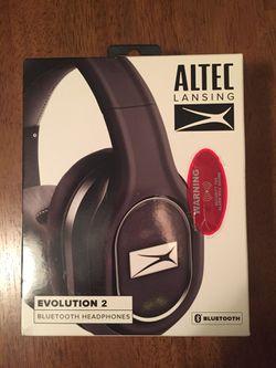 Bluetooth Headphones Altec Lansing Over ear for Sale in Massapequa,  NY