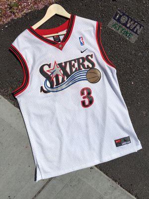 Allen Iverson jersey size large for Sale in Wenatchee, WA