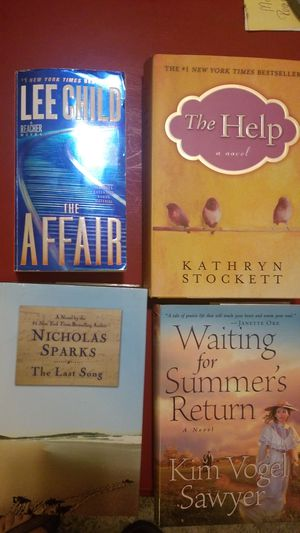 Hardback Books: The Help, The Last Song, Waiting for Summer's Return, The Affair for Sale in Starkville, MS
