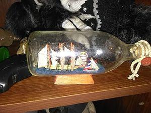 Boat in a bottle for Sale in Wichita, KS