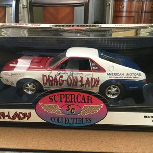 """Up for1969 AMX Super Stock Heritage Racing Series # 3 """"DRAG-ON-LADY"""" By Shirley Shahan. for Sale in Raleigh, NC"""