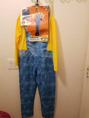 Minnion Bob boys costume size L for Sale in Phoenix, AZ