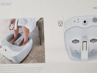 Brookstone Foot Massager Spa Whit Control for Sale in Everett,  WA