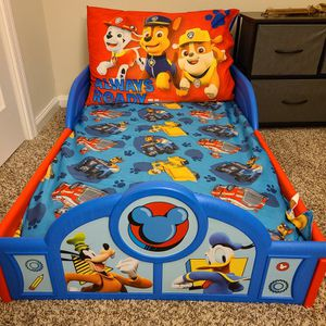 Mickey Mouse Toddler Bed for Sale in Alexandria, VA