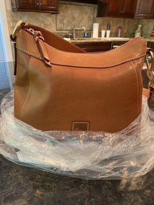 Dooney leather HOBO shoulder bag for Sale in Crownsville, MD
