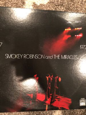 Smokey Robinson and the miracles for Sale in Conshohocken, PA