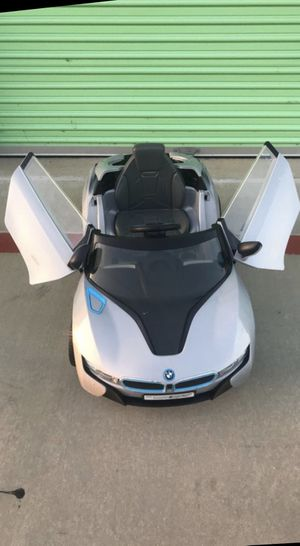 BMW i8 Concept Spyder Electric car toy for kids for Sale in Mission Viejo, CA